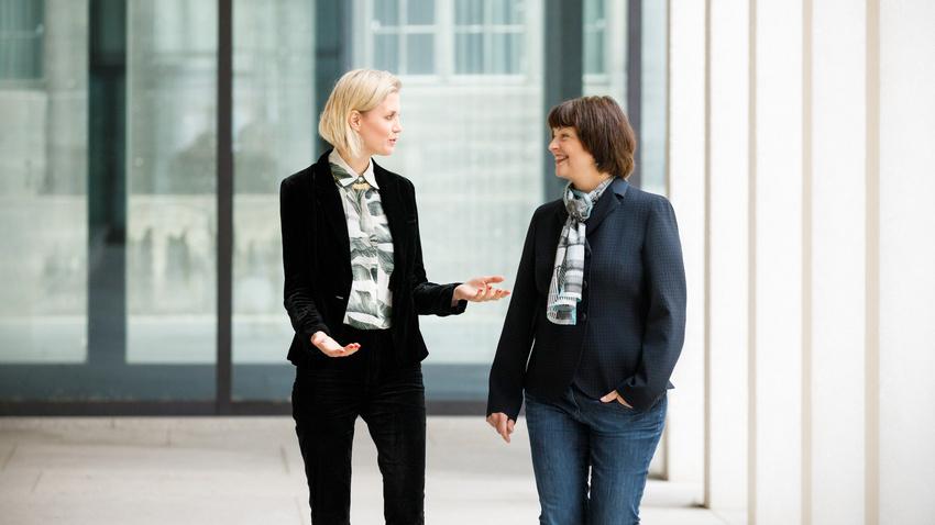 Doppelspitze: Tina Sikorski unterstützt Ina Keßler als Geschäftsführerin der Initiative Musik