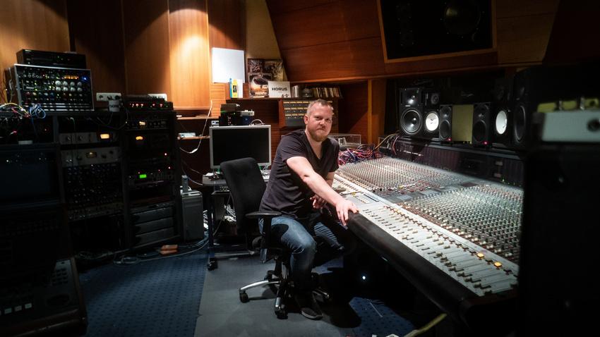 """""""Mein Plan B"""": Arne Neurand, Musiker, Produzent und Mitinhaber des HORUS Sound Studios Hannover"""