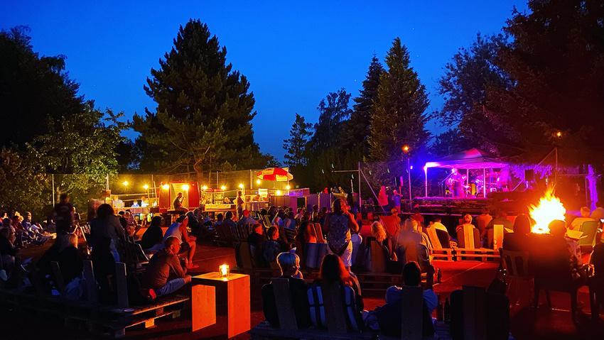 Open Air Konzerte waren im sommer eine gute Option
