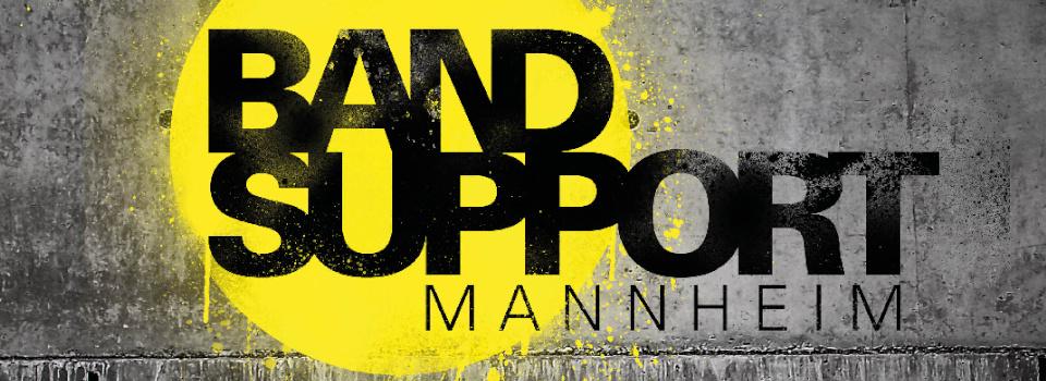 Regionale Ausschreibung: Der Bandsupport Mannheim erwartet eure Bewerbung für ein einjähriges Coaching!