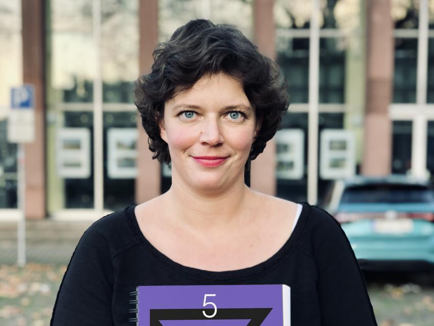 Cora Maria Malik, Geschäftsführerin des Karlstorbahnhofes