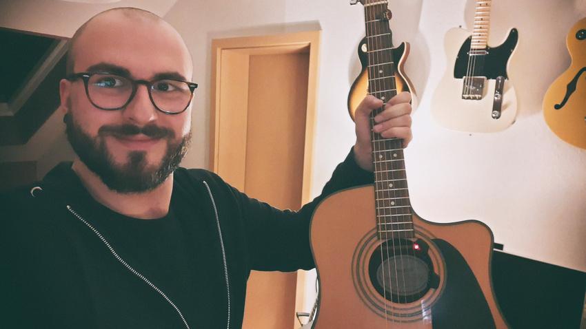 KORG Gewinner Patrick Müller fand seine Band bei Backstage PRO