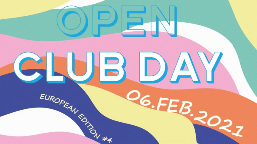 Spotlight in schwierigen Zeiten: Der Open Club Day findet 2021 online statt