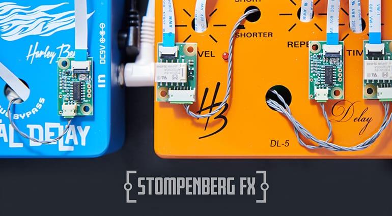 Mit Stompenberg FX von Thomann könnt ihr Effektpedale live im Browser testen