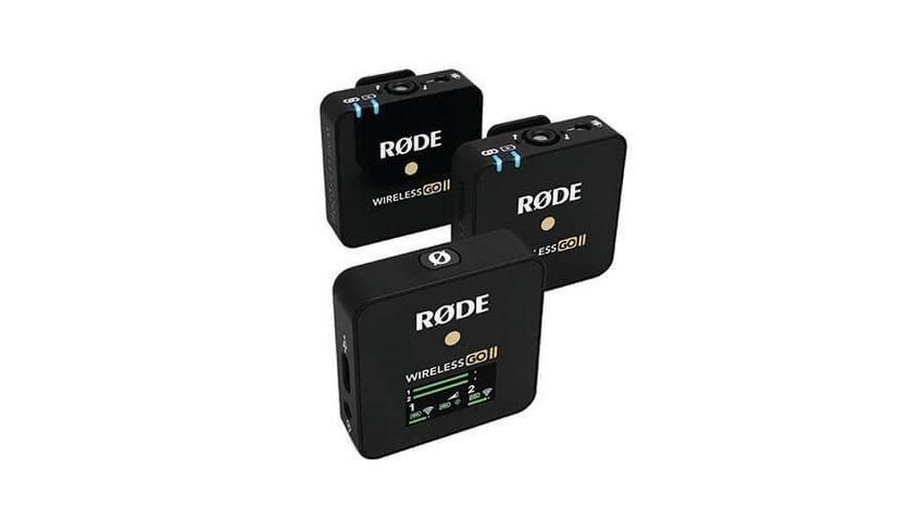 RØDE mit neuem Drahtlos-Mikrofonsystem Wireless GO II