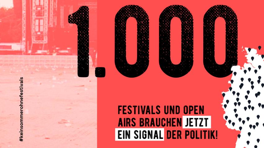 Festival Kombinat fordert Perspektive für kleine und mittelgroße Festivals