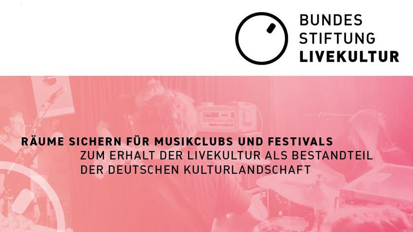 LiveKomm und Berlin Worx e.V. rufen Bundesstiftung LiveKultur ins Leben