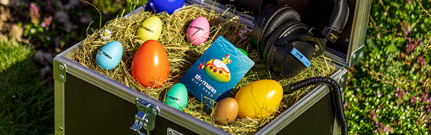 Thomann veranstaltet Egg-Painting-Contest an Ostern