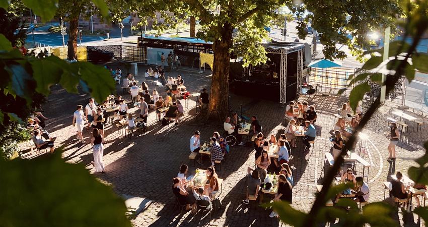 Sommerbühne des Karlstorbahnhofs (2020)