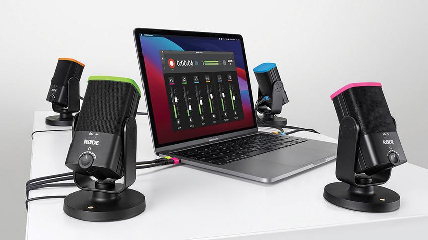 RØDE Connect: Die neue Podcast- und Streaming-Software für das NT-USB Mini