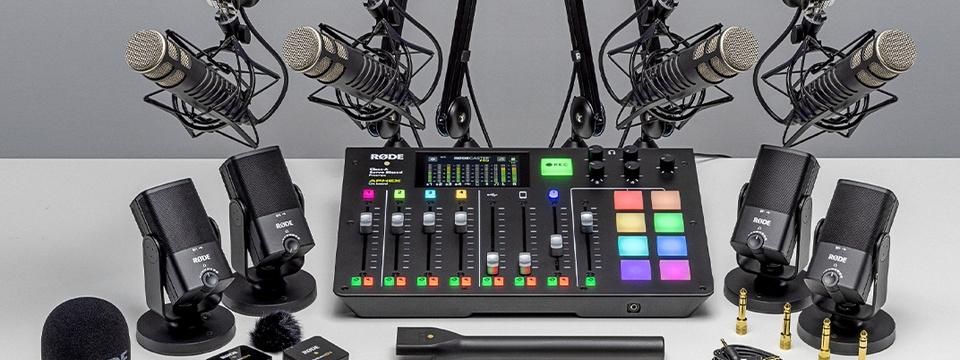 My RØDE Cast 2021: großer Podcast-Wettbewerb mit über 100 wertvollen RØDE Podcasting Packs