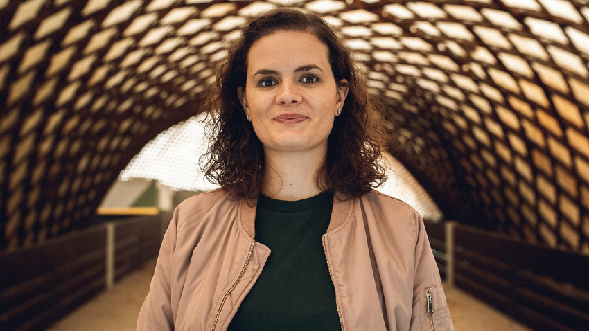 Anna Blaich, Projektmangerin für kulturelle Stadtentwicklung bei NEXT Mannheim und 2. Vorsitzende der Bundestiftung LiveKultur