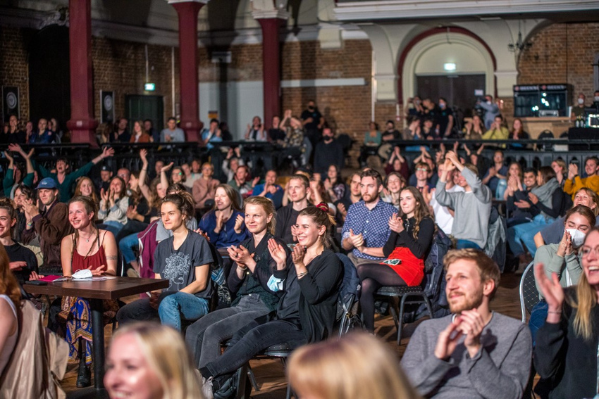 Das Publikum bei Fil Bo Riva
