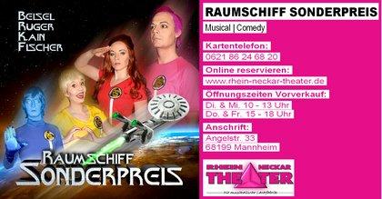 Raumschiff Sonderpreis | Comedy-Musical