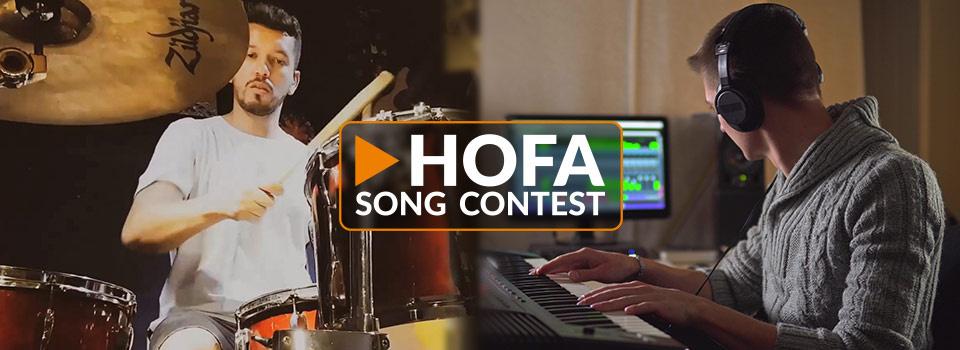 HOFA Song Contest: Preise für über 20.000 € zu gewinnen – bis zum 3. August kostenlos mitmachen!
