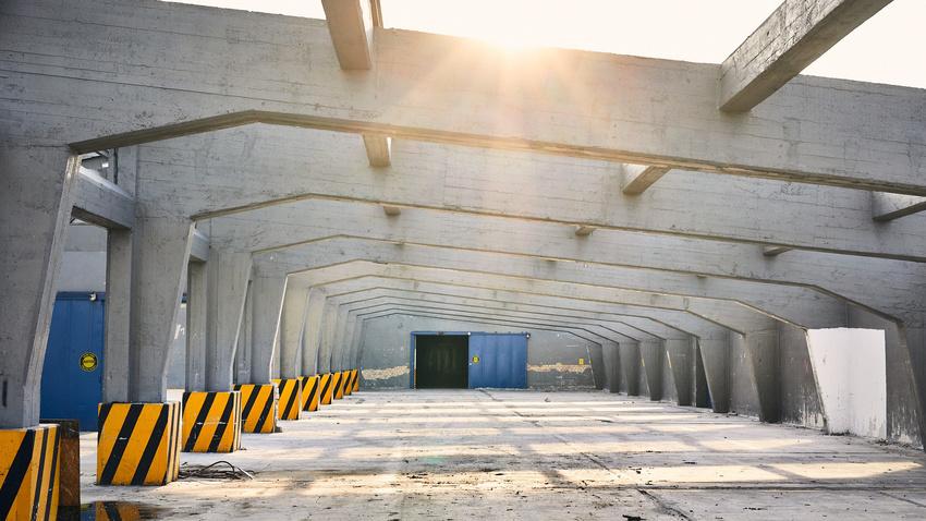 Die U-Halle wird ein zentrales Gebäude in der BUGA 2023.