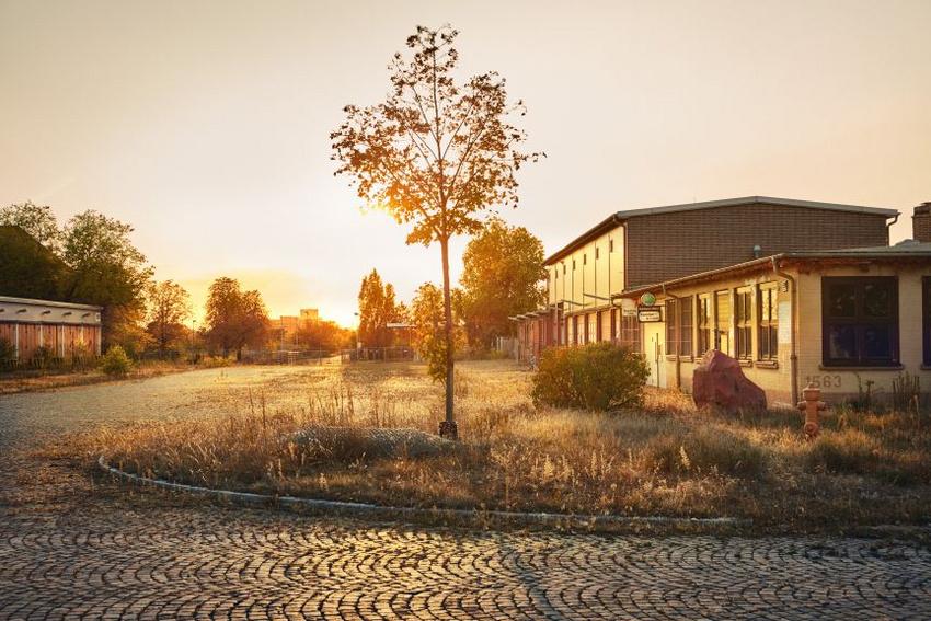 Der Ort des Festes am 12. September: das Spinelli-Gelände