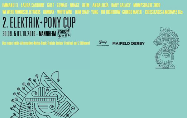 Flexibel - 2. Elektrik Pony Cup in Mannheim: Line-up komplett, Timetable veröffentlicht