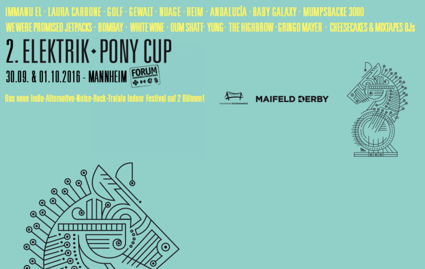 Elektrik Pony Cup (2016)