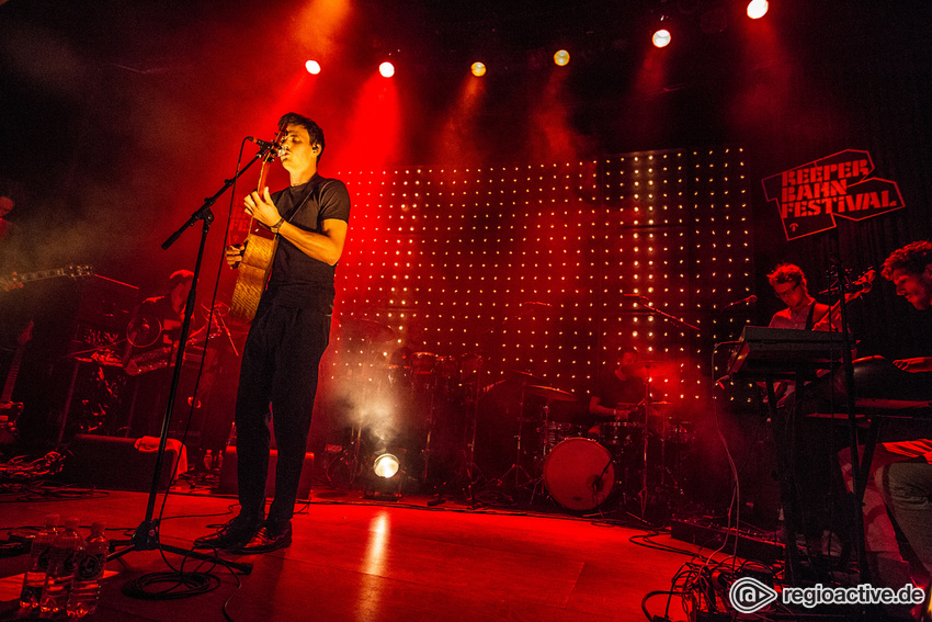 Malky (live beim Reeperbahn Festival 2016)
