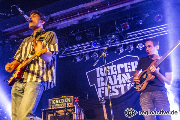 Doch, doch! - Fotos: Von Wegen Lisbeth live beim Reeperbahn Festival 2016 in Hamburg