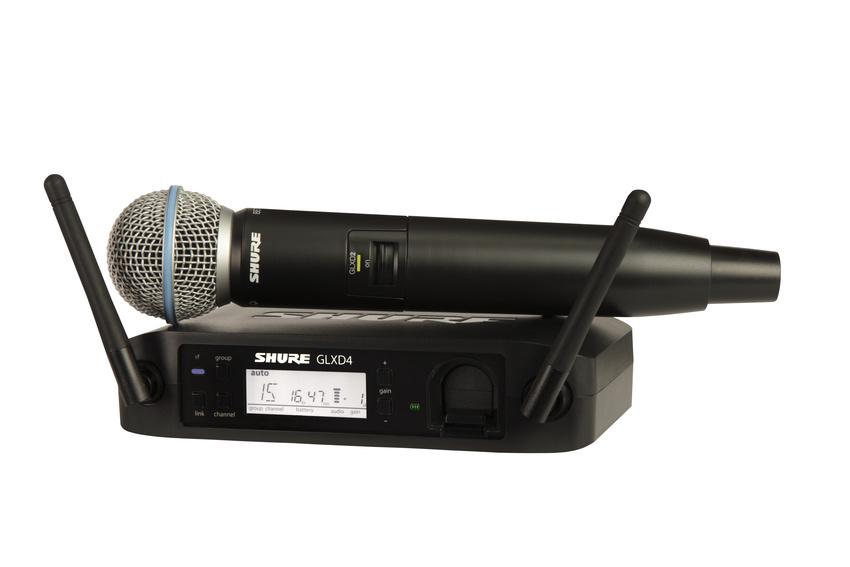 Mehr Power fürs Funksystem: Shure startet GLX-D Akku-Aktion