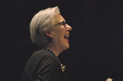 Einzigartig - Irène Schweizer spielt bei Enjoy Jazz 2016 im Nationaltheater Mannheim ein traumhaftes Konzert