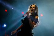 Powerfrau: Fotos von Tarja live in der Batschkapp in Frankfurt