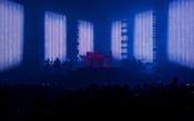 Leuchtend: Fotos von Jean Michel Jarre live in der Festhalle in Frankfurt am Main