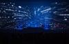 Elektronischer Altmeister - Jean Michel Jarre hypnotisiert das Publikum in der Frankfurter Festhalle