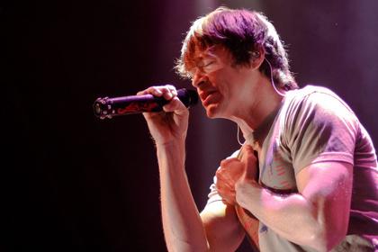 Patriotisch - Südstaatenrock: Fotos von 3 Doors Down live in der Columbiahalle Berlin
