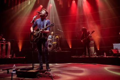 Elektrisierend - Bilder von Passenger & Band live in der Jahrhunderthalle Frankfurt