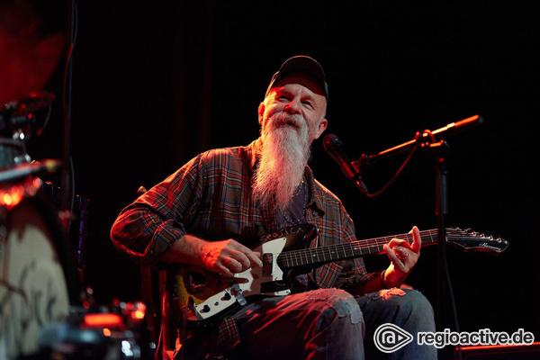 Rock never gets old - Ein Original: Live-Fotos von Seasick Steve im Schlachthof Wiesbaden