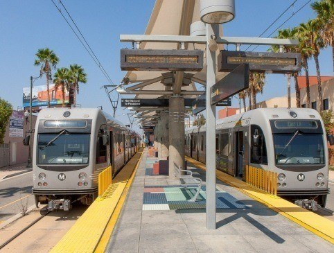 Metro Gold Line Eastside Extension LRT-Union Station to East Los Angeles