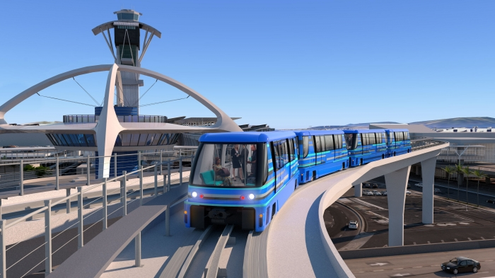 $4.5B 30-Year Contract for LAX People Mover Approved