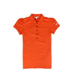 Burberry Polo Shirt in Bright Clementine for Woman