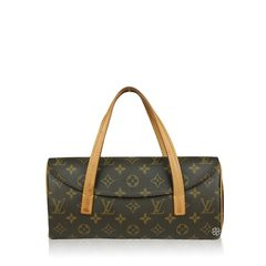 Louis Vuitton Monogram Canvas Sonatine Brown Bag