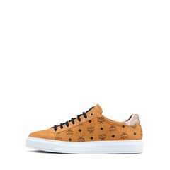 MCM	Men Low Top Sneakers in Cognac