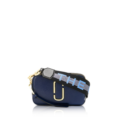 Marc By Marc Jacob	Small Snapshot Camera Bag in New Blue Sea Multicolors