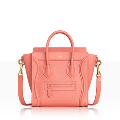 Celine	Nano Luggage in Lychee Grained