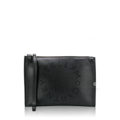 Stella McCartneyStella Logo Clutch Black
