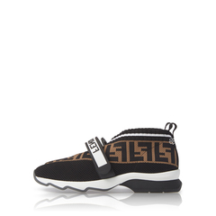 Fendi	FF Sock Sneaker Black