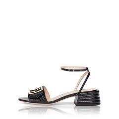 FF Slingback Sandal Black Croc StampBlack