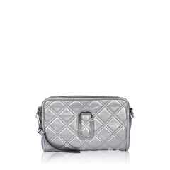 Marc By Marc JacobThe Softshot 21 Silver Quilted