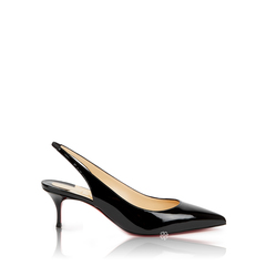 Christian LouboutinKate Slingback Pumps 55mm in Black Patent