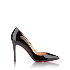 Christian Louboutin Pigalle Pumps 100mm in Black Patent