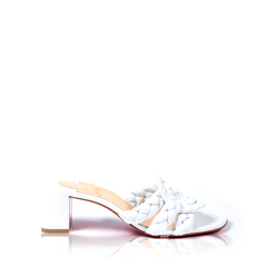 Christian LouboutinWomen Marmela Mules 55mm in White Nappa Leather