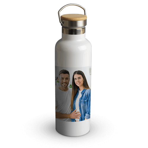 Bamboo bottle