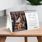 Eco-Friendly Desk Calendar