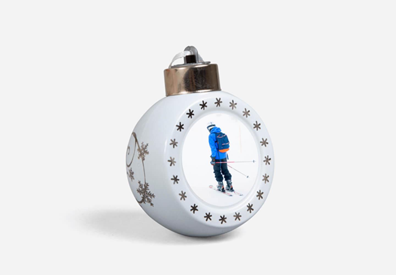 Boule de Noël lumineuse